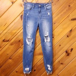 Destroyed Skinny Jeans Forever 21 size 29